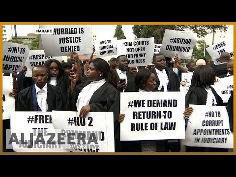 🇿🇼 Zimbabwe lawyers demand independent judiciary to try protesters l Al Jazeera English
