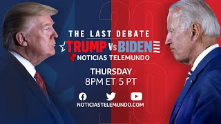 The Final 2020 Presidential Debate: Joe Biden & Donald Trump (Full Debate - ENGLISH)