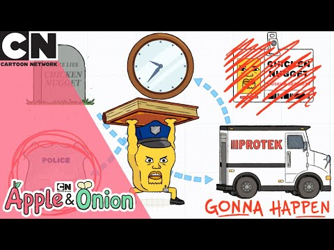 Apple and Onion   Don't touch it   Cartoon Network UK 🇬🇧