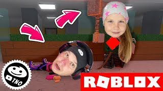CAN'T CATCH US ON PC | Flee the Facility | Roblox | Daddy and Barunka CZ/SK