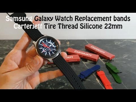 samsung-galaxy-watch,-replacement-silicone-22mm-bands-:-carterjett
