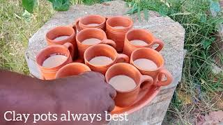 मिट्टी के बर्तन की खुशबू सर्वश्रेष्ठ || Taste of Clay in Healthy way