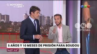 Cinco años y 10 meses de prisión para Boudou - El noticiero de la gente