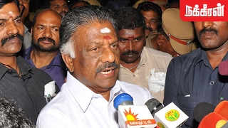 O Panneerselvam Revolts Against Sasikala