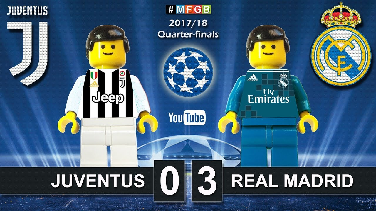 Download Juventus vs Real Madrid 0-3 • Champions League 2018 (03/04) Juve Real Goals Highlights Lego Football