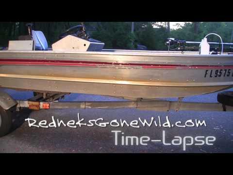 Aluminum Boat Cleaner