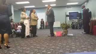 THe GLory Gushing Encounter - Lady Partialy  Blind healed 2015  Part 3