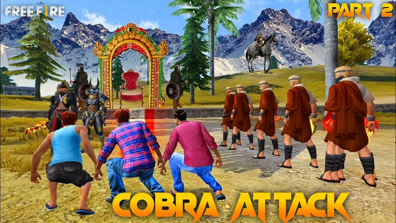 Cobra Attack 🐍 Part 2  [ कोबरा हमला ] Free Fire Short Emotional Story in Hindi