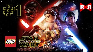 LEGO Star Wars: The Force Awakens - iOS / Android - Walkthrough Gameplay Part 1(Relive the galaxy's greatest adventure in LEGO® Star Wars™: The Force Awakens™ for mobile! Play as heroic characters from the movie, including Rey, Finn, ..., 2016-06-28T22:06:37.000Z)