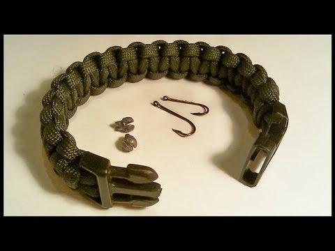 Paracord Fishing & Survival Bracelet