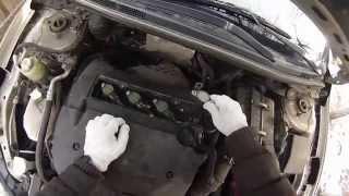 Как заменить свечи и воздушный фильтр Mitsubishi Lancer X