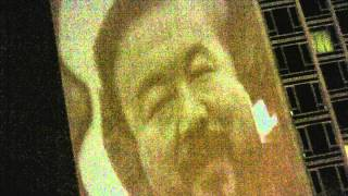 Nemesis-Ai Weiwei: Guerrilla projection by Geandy Pavon http://geandypavon.net/