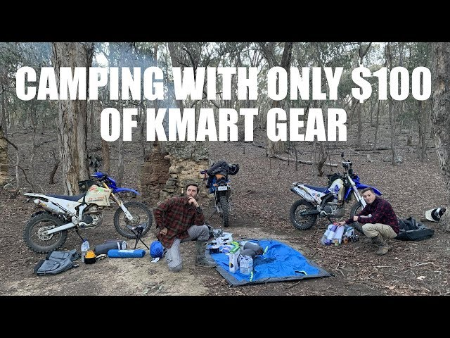 SURVIVING THE AUSSIE OUTBACK WITH ONLY $100 OF KMART GEAR!