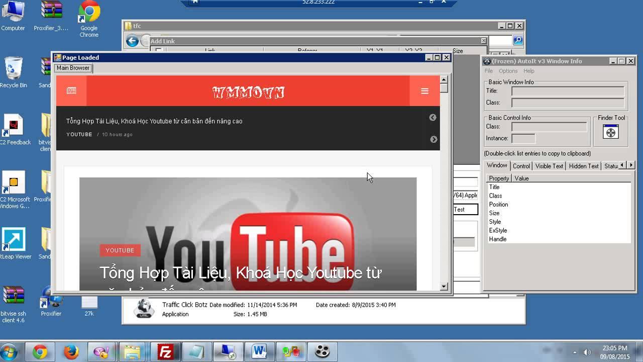 video traffic manual tool click botz by thanhps