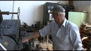 restored Ruston Hornsby diesel engines working