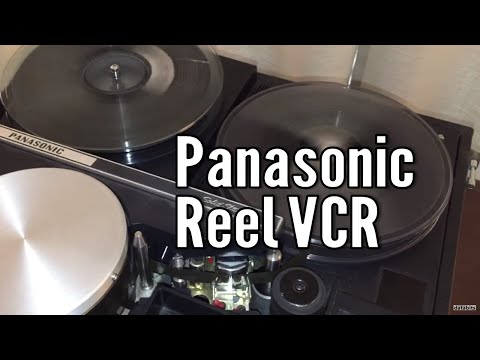 Vintage Tech: 1970s Reel to Reel VTR NV-3020