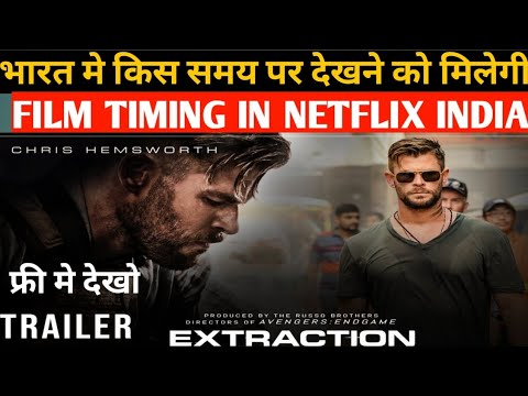 Extraction Netflix Show Timing Extraction Movie Review Hindi Extraction Review 2020 Revie Youtube