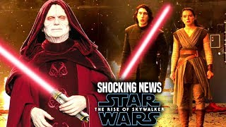 The Rise Of Skywalker Palpatine Shocking News Revealed! (Star Wars Episode 9)