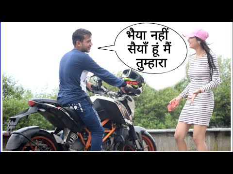 Saiya Hu Tumhara Prank In India On Cute Girl By Desi Boy With Twist Epic Reaction | prank Video 2019