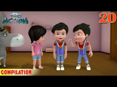 Vir : The Robot Boy | Vir Action Collection - 20 | Action Series | WowKidz Action