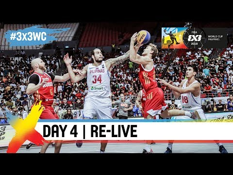 FIBA 3x3 World Cup 2018 - Pool Phase - Day 4 - Re-Live - Manila, Philippines