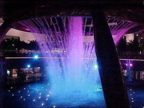 Singapur Lightshow World Trade Center