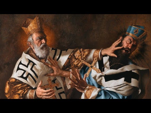 St. Nicholas vs. the Arian Heresy