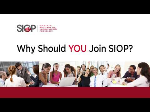 Why you should join SIOP