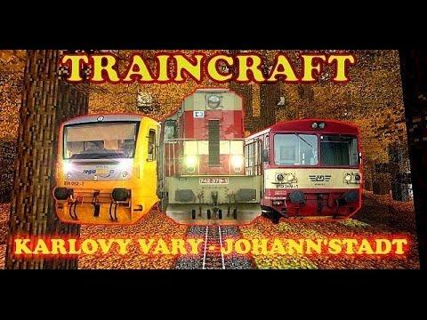 TRAINCRAFT : Karlovy Vary - Johanngeorgenstadt - full track