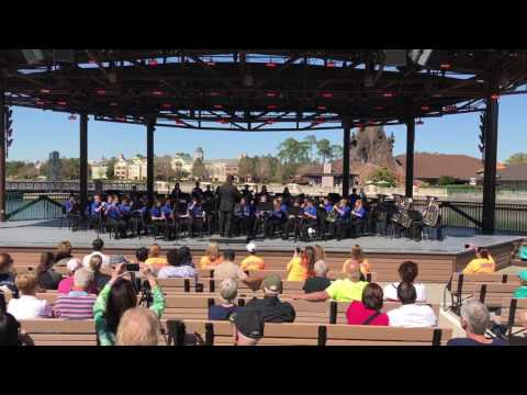 South Forsyth Middle School Band Disney 2017