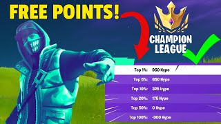 The EASIEST Way T๐ Get TOP 1% In HYPE NITE! (Fortnite Battle Royale)