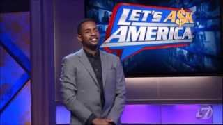 ABC Game Show 'Let's Ask America' - Alex Competes In Show