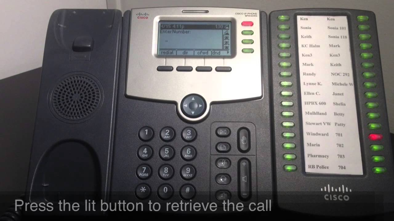 Phone Not Working >> Monmouth Telecom: How to Park a Call Using the Sidecar - YouTube
