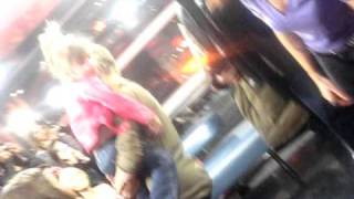 My Video of Justin Bieber Dancing with His Little sister Jazzy at M...