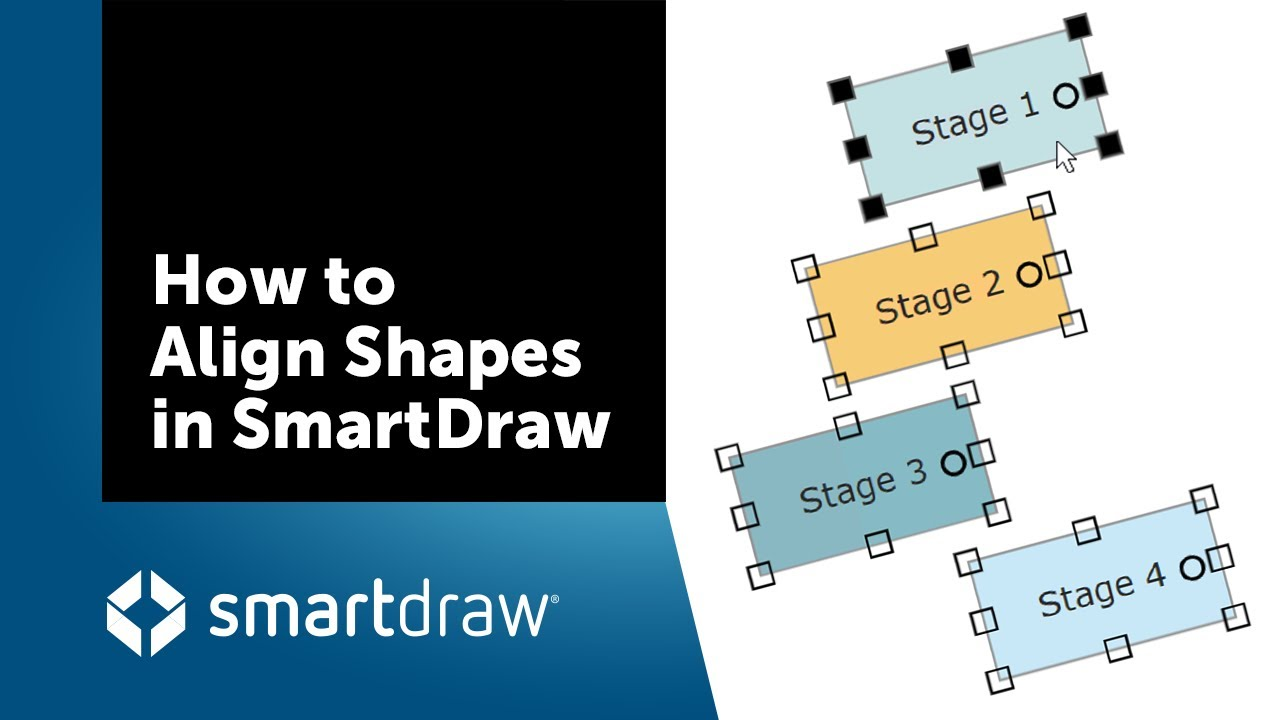 smartdraw tip how to align shapes - Smartdraw Support