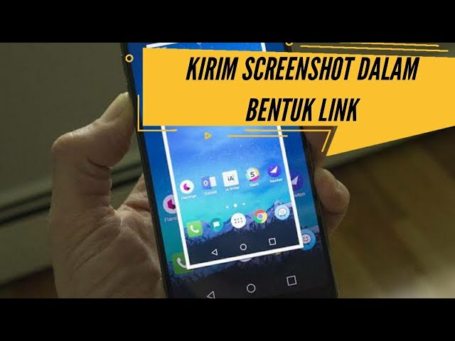 Cara Berbagi Screenshot Dalam Bentuk Link di Android