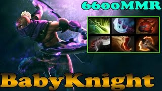 Dota 2 - Babyknight 6600 MMR Plays Anti-Mage Vol 1# - Ranked Match Gameplay!