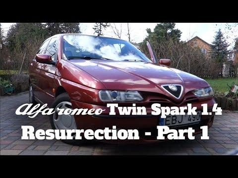 alfa romeo 146 1.4 twin spark resurrection - part 1 - youtube