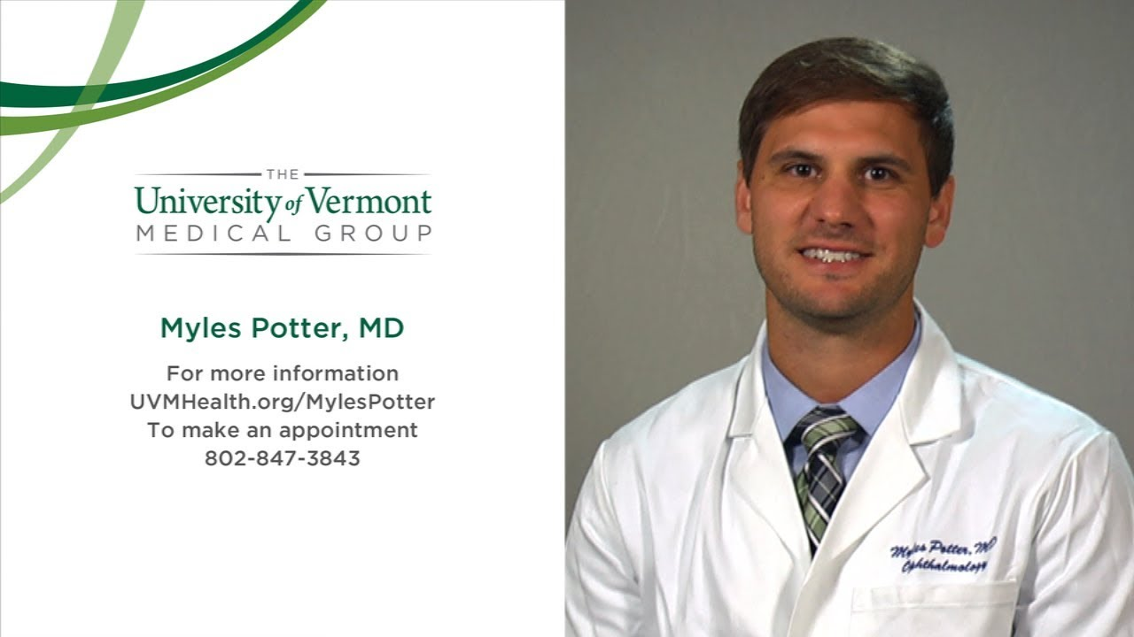Stephen Myles Potter, MD - Ophthalmology - Burlington