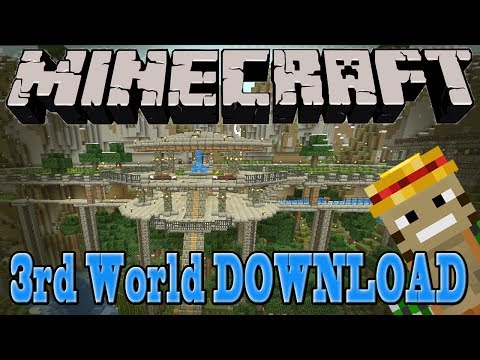 3rd World Download! Monkeyfarm's Minecraft Map