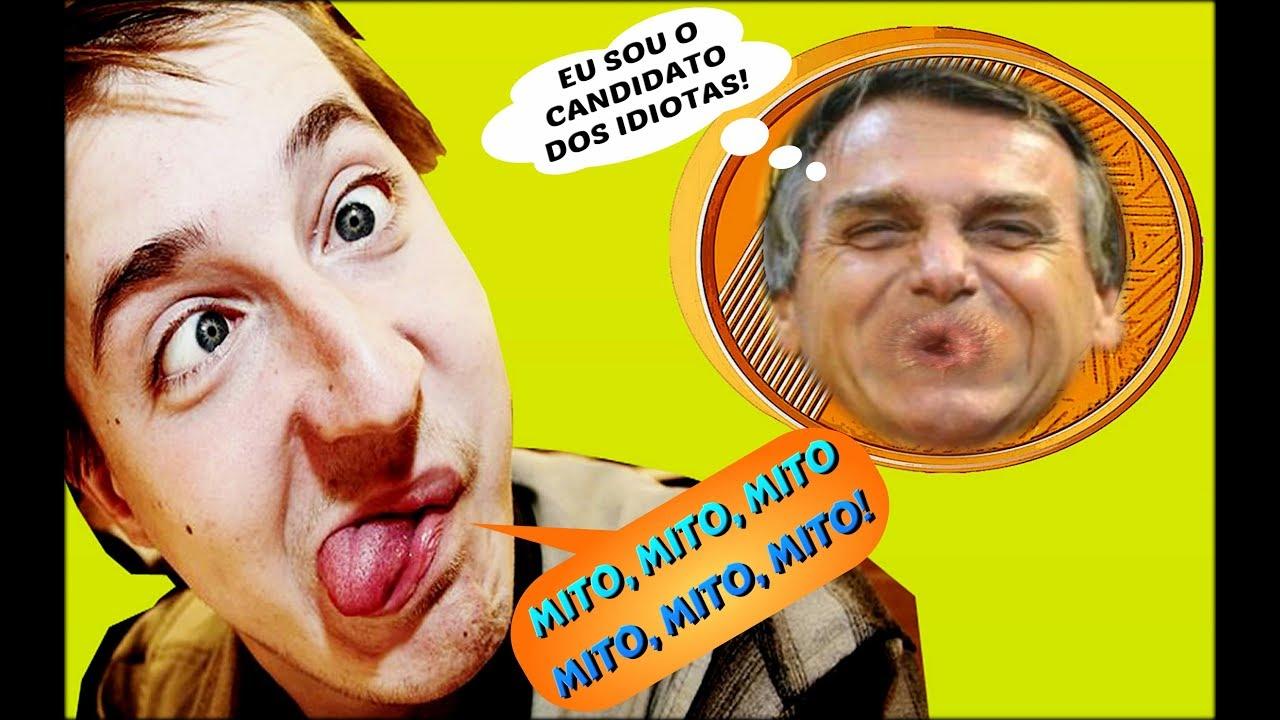 Resultado de imagem para BOLSONARO IDIOTA
