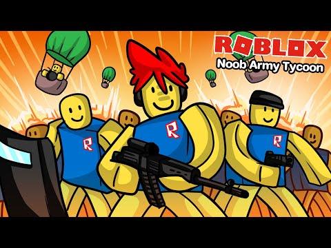 Roblox : Noob Army Tycoon #2 🥴 ปลดล็อคกองทัพ NOOB อากาศและน้ำระดับเทพสุดๆ !!!
