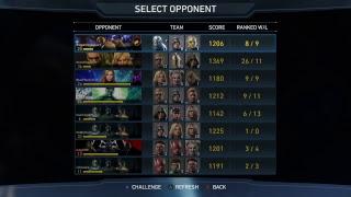 Injustice 2 AI battle simulator