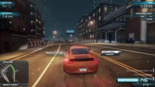 Need for Speed: Most Wanted 2012 first race Keys to the city