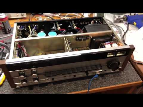 Gorgeous Luxman SQ-202 Integrated Amplifier Repair & Service
