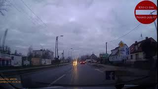 #nadrogach #kierowcy #wypadki #kolizje Tak jeździ Poczta Polska! Wymuszenie pierwszeństwa