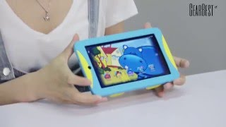 Great Wall W715 Kids Tablet PC Review - Gearbest.com