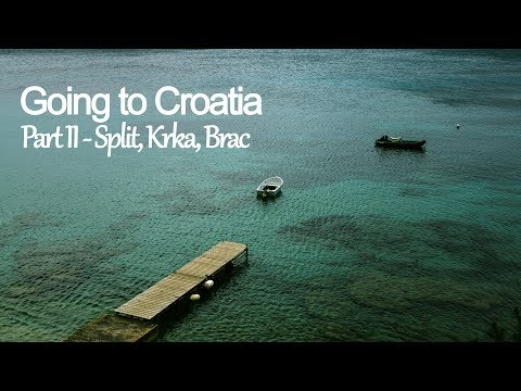 [Travel Vlog] - Croatia pt 2 Split, Krka, Brac