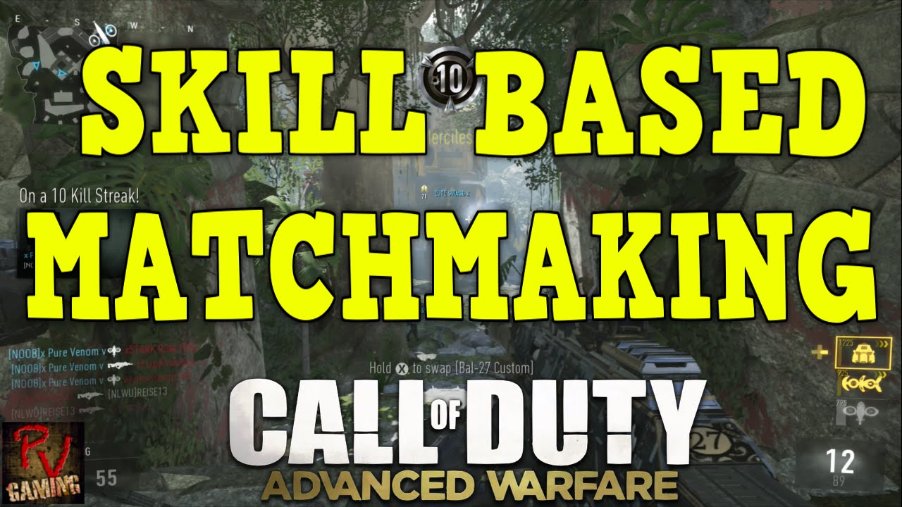 advanced warfare regional matchmaking Advanced warfare gameplay - skill based matchmaking + poor connections = reverse boosting in cod aw reverse boosting in advanced warfare | how to do it and what it is #advancedwarfare видео.