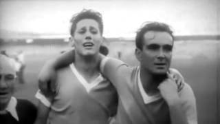 Last minute of 1950 FIFA World Cup final. Brazil vs. Uruguay. (English Subtitles)